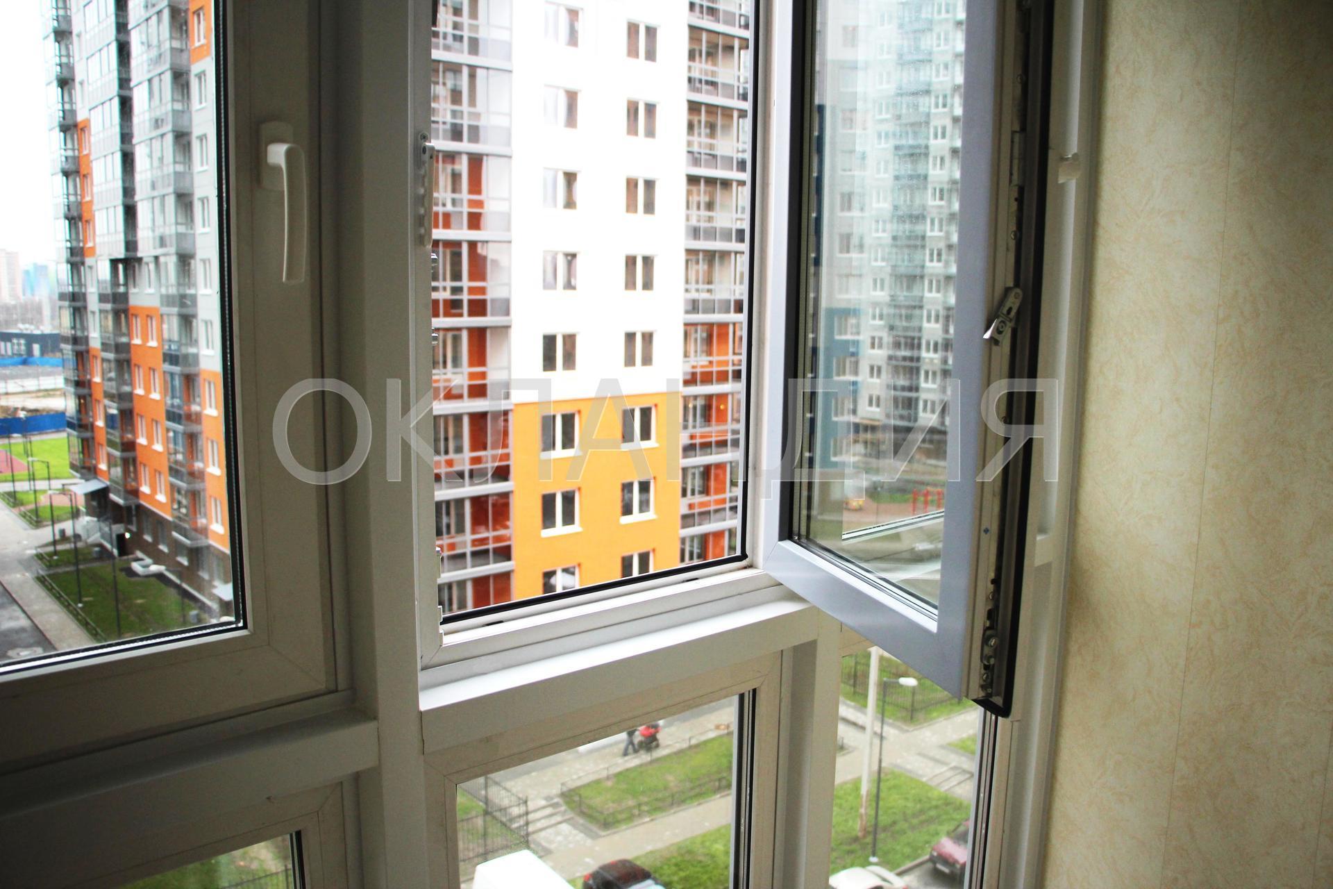 Остекление балкона в новом доме, панорамное.