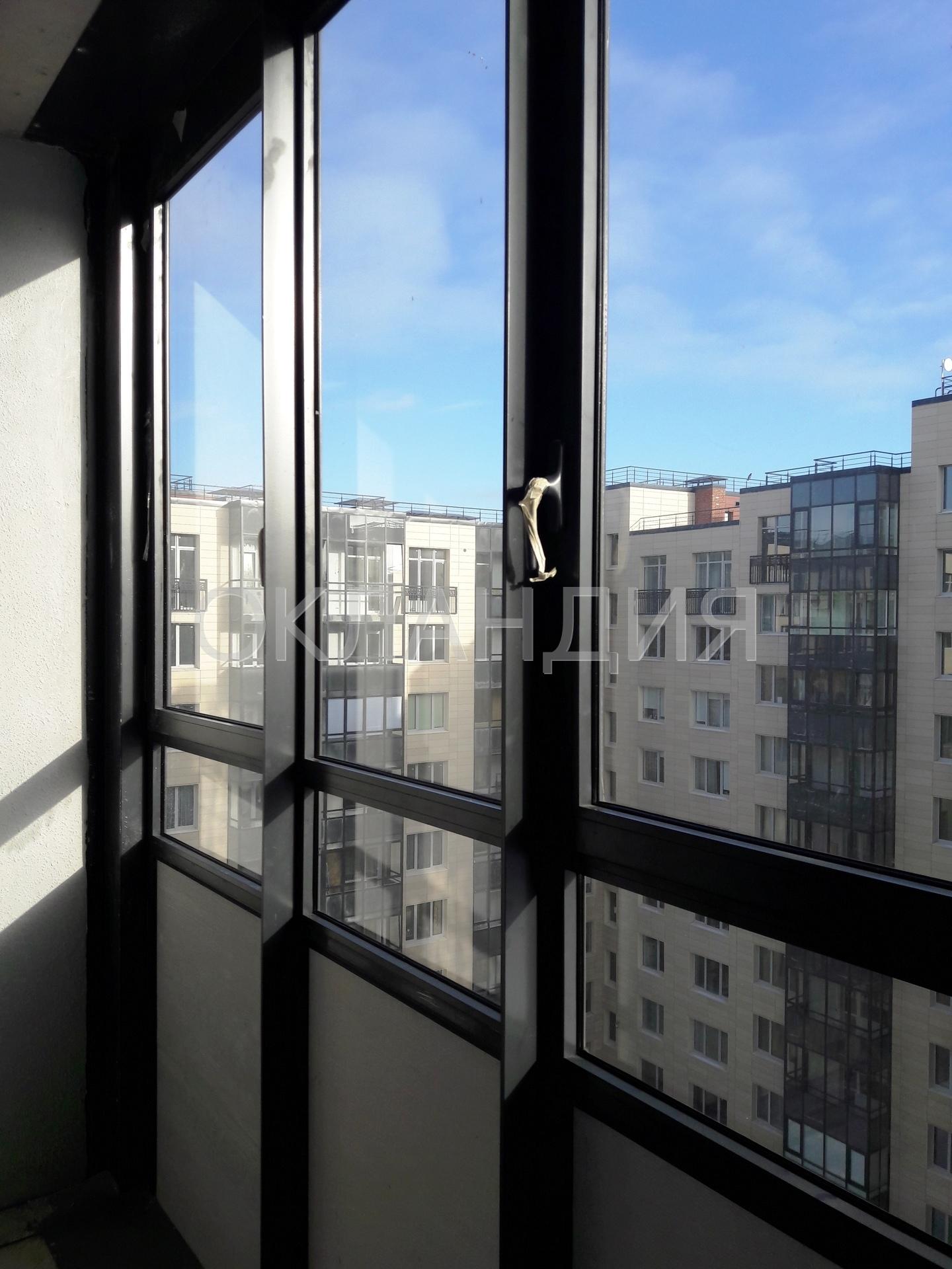 Жк дом на выборгской, 5 - остекление фасадов, замена холодно.