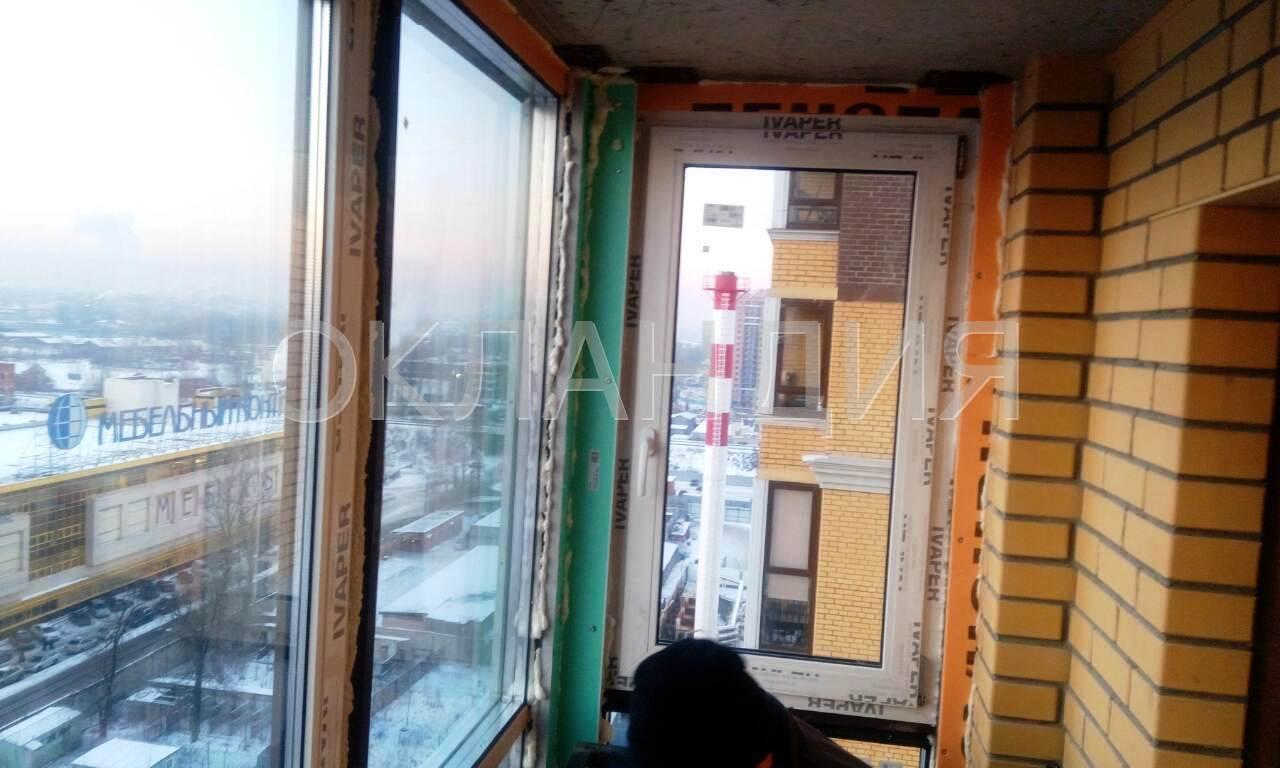 Жк московский квартал - остекление фасадов, замена холодного.