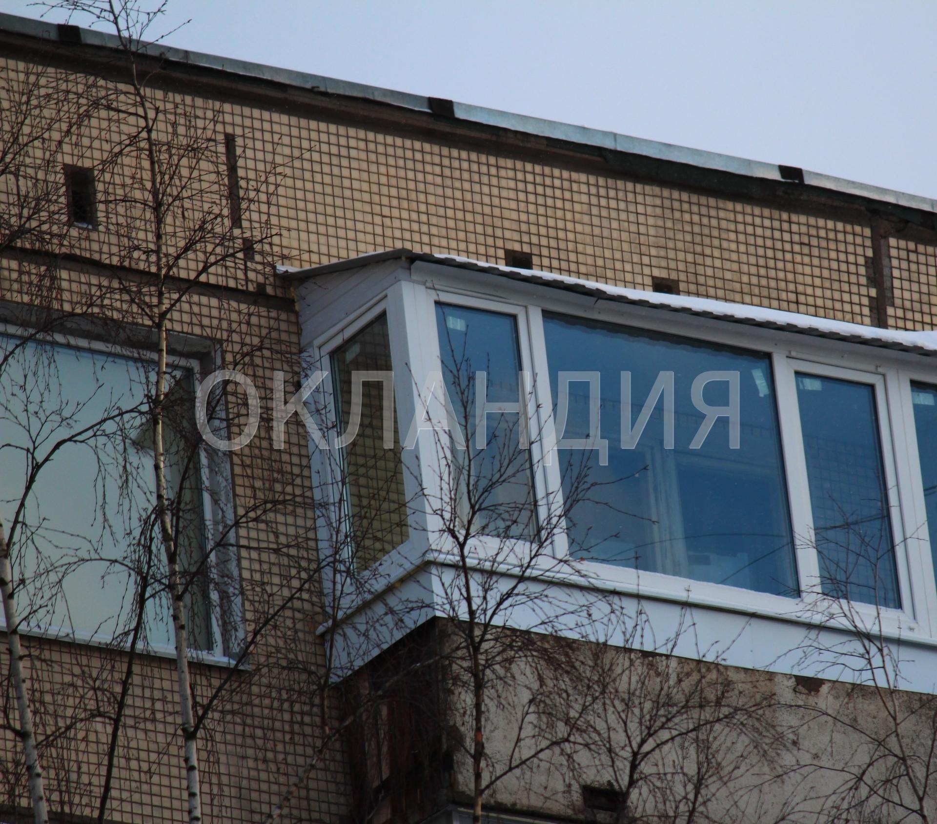 Крыши над балконами - фотогалерея.