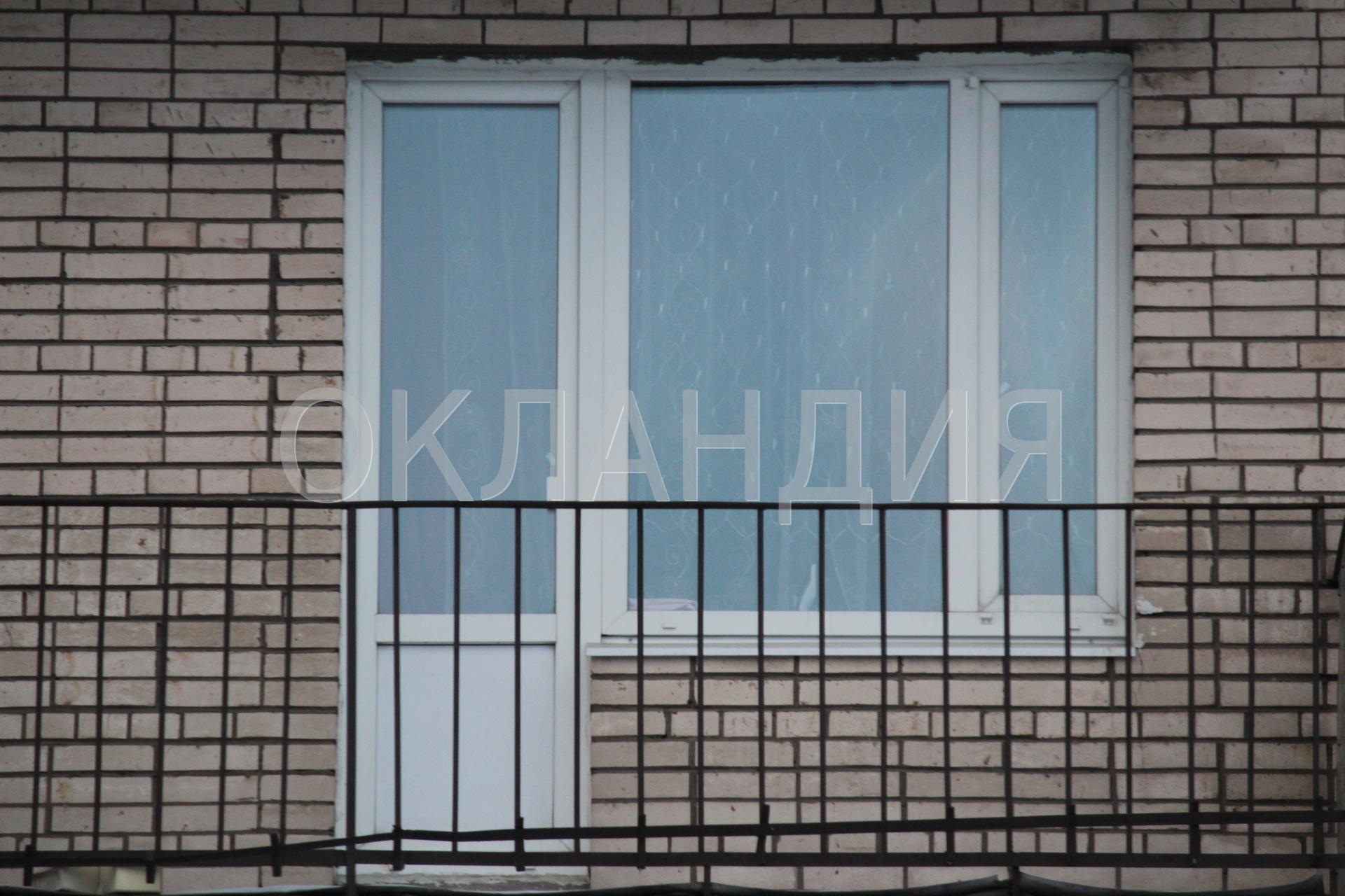 Замена балконного блока в кирпичной брежневке на витебском п.