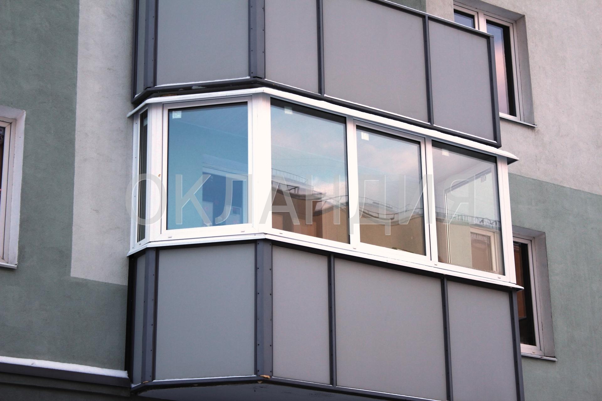 Остекление балконов застройщиком.