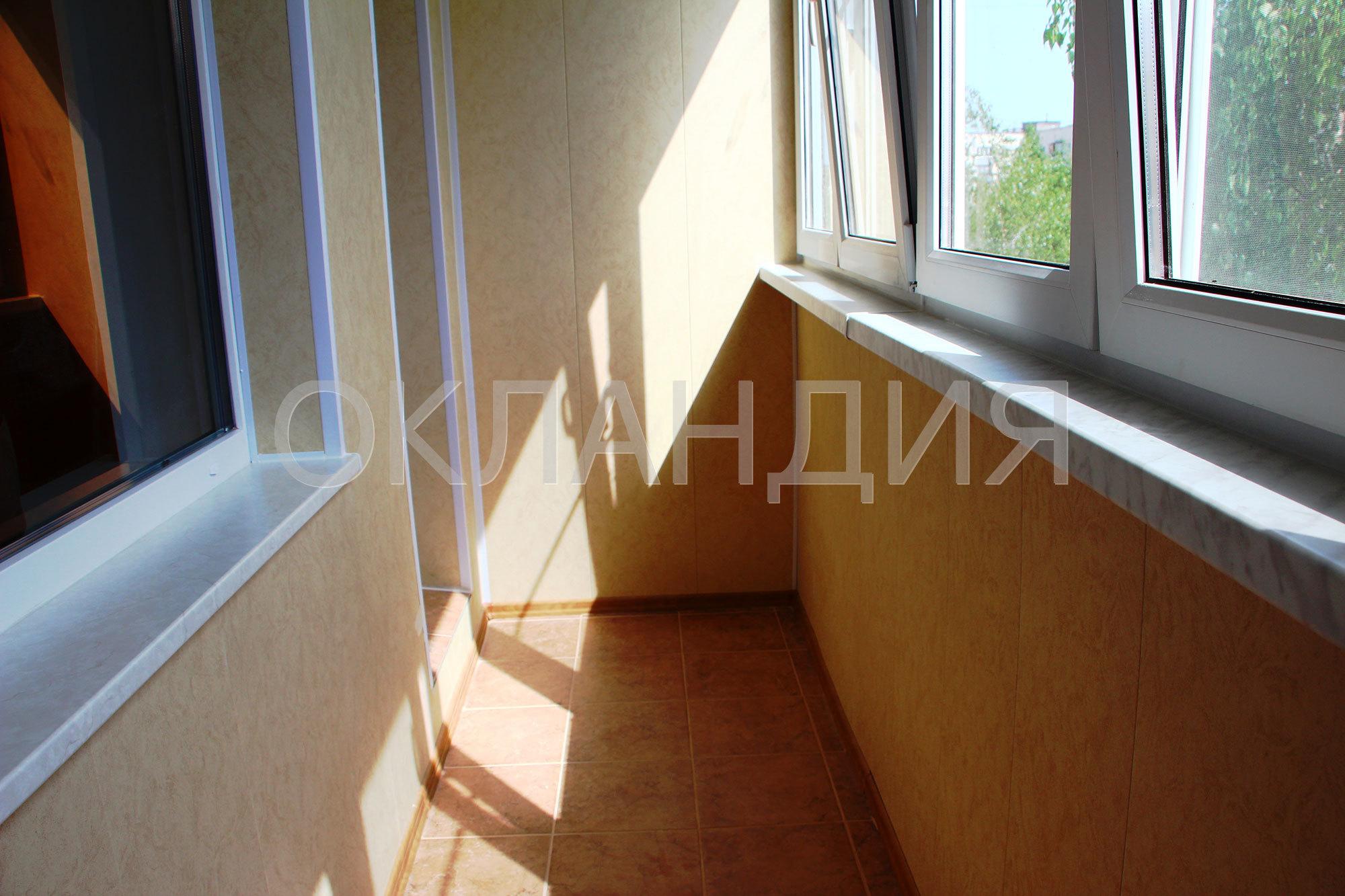 Отделка балкона с утеплением и застеклением, 504 серия дома.