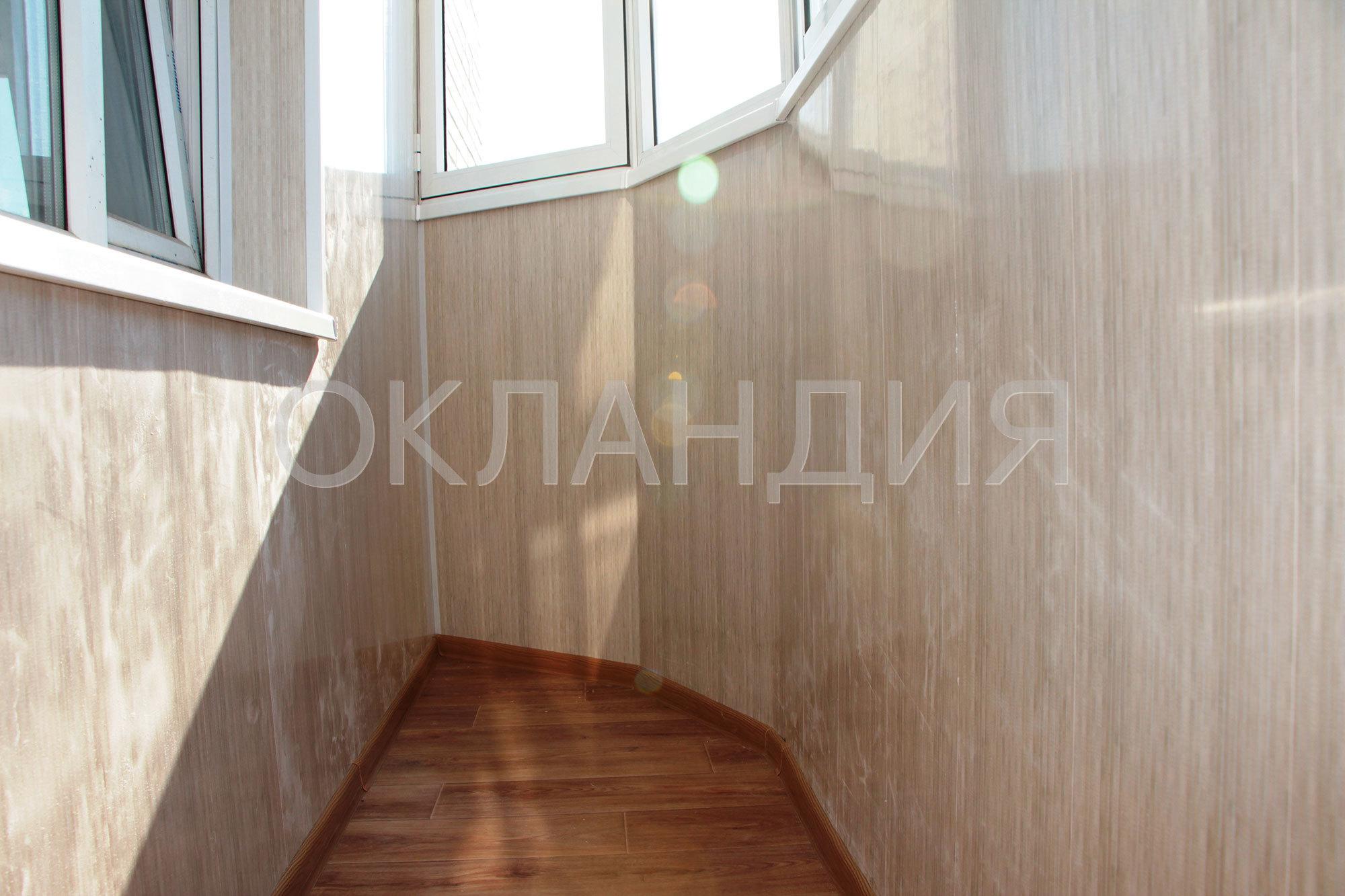 Отделка полукруглых балконов фото..